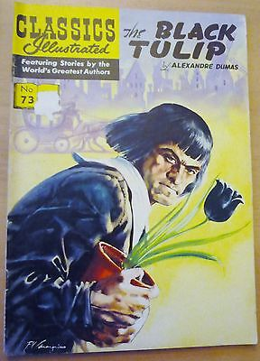 Classics Illustrated No.73 UK (HRN 141) The BLACK TULIP By Alexandre Dumas