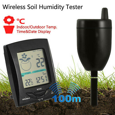 BG4 100m Wireless Transmission Soil Humidity Tester Multifunction Indoor