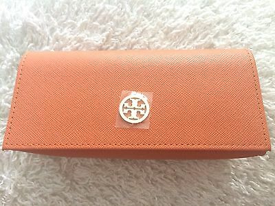 NWOT Tory Burch Orange Sunglasses/Eyeglass Case
