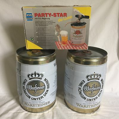 """TAP for FASS-FRISCH """"PARTY STAR DELUXE SYSTEM"""" (BEER TAP) 2 WARSTEINER KEGS"""