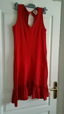 jolie robe rouge femme taille 38