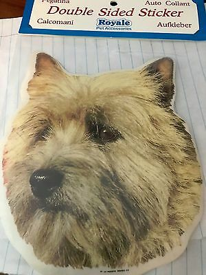 Cairn Terrier Double sided sticker
