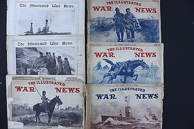 WW1 6 X Copies Of War Illustrated ( Various Editions )
