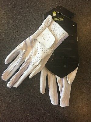 Samshield V-skin Vented Leather Gloves -white - Size 7 - New With Tags
