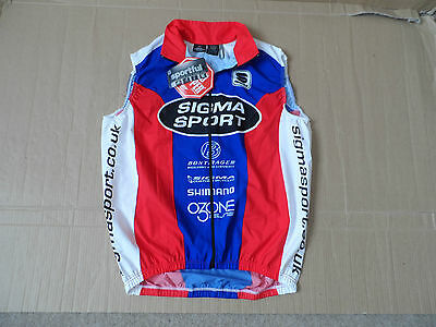 Men's Sporful Team Sigma Wind Stopper Cycle Gilet Size Medium NEW