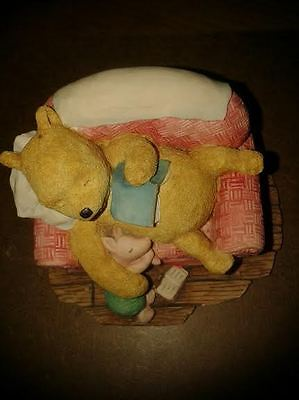 Winnie The Pooh and Piglet Ornament - made by Border Fine Arts