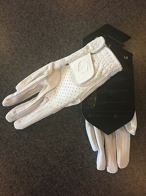 Samshield V-skin Vented Leather Gloves -white - Size 7.5 - New With Tags