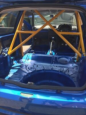 fiesta mk1 & 2/ roll cage/track day/autograss/race car/hill climb/renault clio