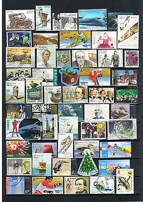 Norway High Quality Used Stamps From Mainly Last Years, Se Scan  027