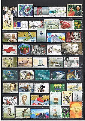 Norway High Quality Used Stamps From Mainly Last Years, Se Scan  028