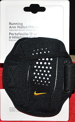 Nike Mens Womens Unisex Reflective Running Arm Wallet Phone Case-New