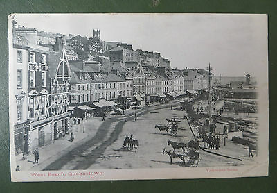 Vintage Postcard, Queenstown Cobh Ireland 1903