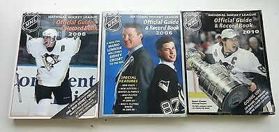 NHL Official Guide & Record Book - Pittsburg Penguins Sidney Crosby & Lemieux