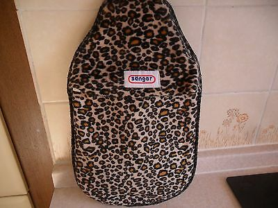 sanger hot water bottle with cover