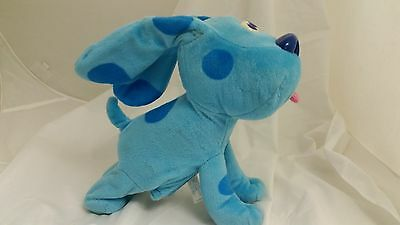 Bounce With Me Blue Dancing  SINGING Plush Blues Clues