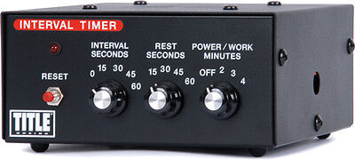 Title Boxing Interval Gym Timer