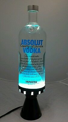 Absolute Vodka Lava lamp