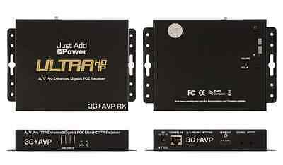 Just Add Power 3G+ AVP RX Ultra HD IP A/V Pro Gigabit PoE Receiver