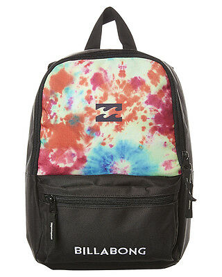 New Billabong Boys Kids Mini Atom Backpack Tie Dye N/A