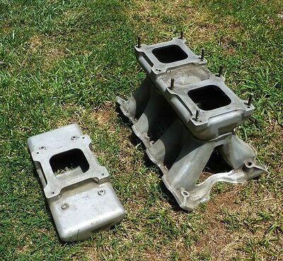 Weiand Tunnel Ram for Ford 351 4V Cleveland With 2 tops Single and Double