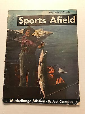 Vintage Issue of Sports Afield Magazine May 1944
