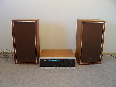 Pioneer Receiver Tuner Amplifier SX-440 & Cs-33 Speakers. Vintage Retro