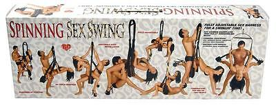 Spinning Sex Swing (complete harness kit)