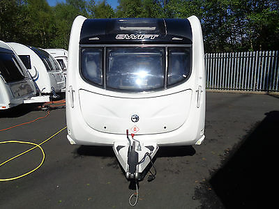 swift challenger 2012 4 berth fixed bed touring caravan px welcome