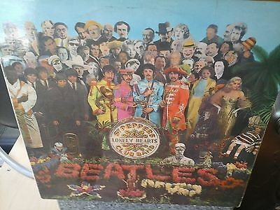 sgt peppers lonely hearts club band.the beatles,parlaphone,1967.