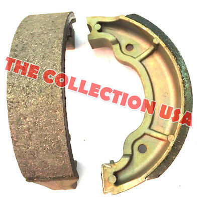 FRONT REAR BRAKE SHOES YAMAHA YFM 80 125 92-01 YFM80 Badger 92-04 YFA1 Breeze