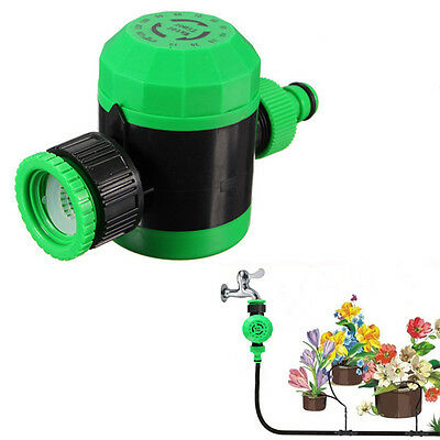 BG214  2-Hour Automatic Watering Timer Garden Water Pipe Controller