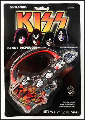 KISS Candy Dispenser 2000 Kiss Catalog Gene Simmons Ace Frehley Peter Criss