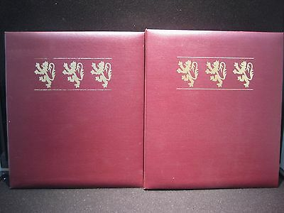 The Royal Coats Of Arms Of The Kings & Queens Of England 22K Gold Postage Stamps