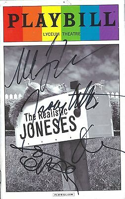 Michael C. Hall, Marisa Tomei, Toni Collette & Tracy Letts signed Playbill