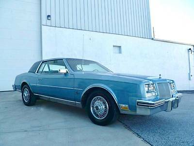 1985 Buick Riviera  1985 Buick Riviera Very Clean Well Maintained