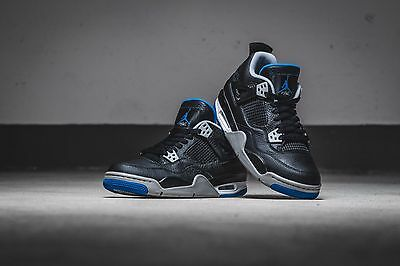 wholesale dealer 09c2b 721f1 air Jordan IV 4 Retro MotorSports ALT GRADE SCHOOL US GS SHOE SIZES  408452-006
