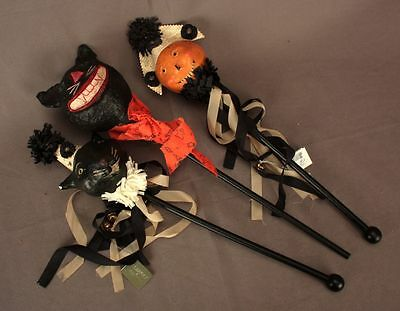 Three Halloween Party Sceptres for You and Two Friends
