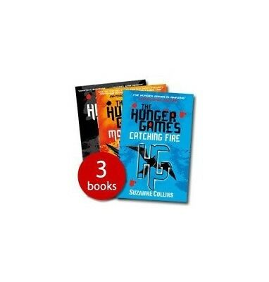 The Hunger Games Trilogy (Paperback) Book The Cheap Fast Free Post