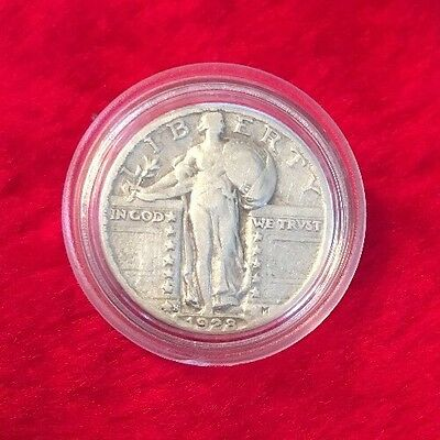1928-S Silver Standing Liberty Quarter In Top Condition!!