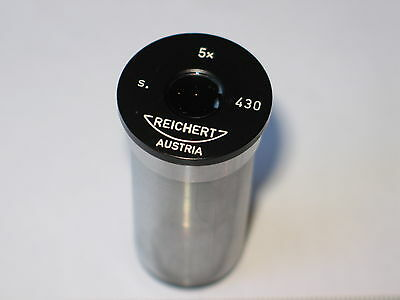 Reichert Microscope Eyepiece 5x s. 430, Made in Austria - As New