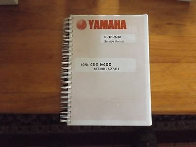 factory workshop manual for  yamaha enduro 40hp  twin cylinder