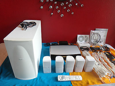 Bose Lifestyle 28 Series-II 5.1 Channel Home Theater System WHITE *complete*