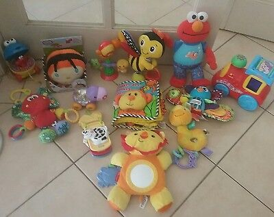 BULK BUY BABY/TODDLER TOYS - LAMAZE, FISHER PRICE - best value buying here!!!!!