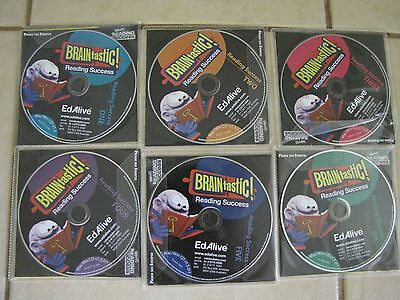 Ed Alive Software CD's Educational PC games - various Maths,Words,Reading,Music