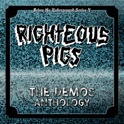 """RIGHTEOUS PIGS The Demos Anthology 2x7""""EP NAPALMDEATH,TERRORIZER,BRUJERIA,GRIND"""
