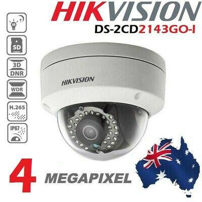 AU Stock HIKVISION DS-2CD2142FWD-I 4MP IP POE IR 2.8mm Outdoor Security Camera