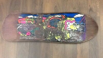 Mike Vallely / 1989 / World Industries / Rare / Old School  Skateboard