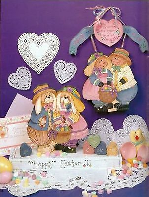 Tole Decorative Painting Patterns Easter Valentines Country Cow Bunny Reversible