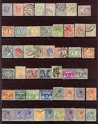 A Collection of 100+ Early Stamps from Netherlands