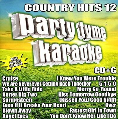Various Artists - Party Tyme Karaoke: Country Hits 12 / Various [New CD]